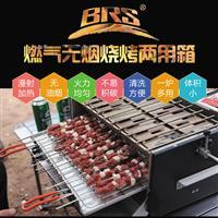 兄弟BRS-16烧烤炉烧烤架 户外便携 折叠 车载 韩式日式燃气烤炉